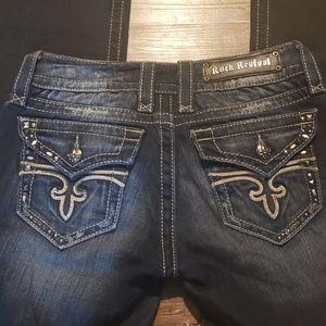 ROCK REVIVAL Noelle Easy Boots Jeans